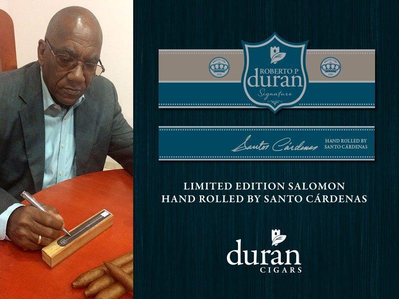 "Cigar News: Duran Cigars Announces ""Santo"" Cardenas Edition of Roberto P. Duran Signature Series"